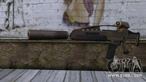 XM8 Assault Dust for GTA San Andreas