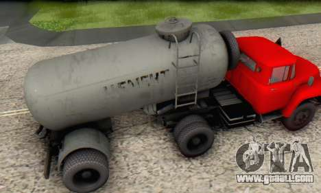 Trailer cement carrier TTC 26 for GTA San Andreas right view
