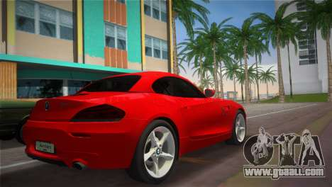 BMW Z4 sDrive35is for GTA Vice City left view