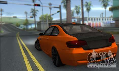 BMW M3 E92 Soft Tuning for GTA San Andreas left view