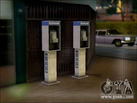 Street phone for GTA San Andreas second screenshot