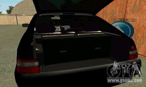 VAZ 21123 Turbo for GTA San Andreas bottom view