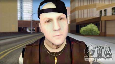 Benji from Good Charlotte for GTA San Andreas third screenshot