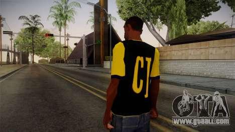 Nirvana Swag Shirt for GTA San Andreas second screenshot