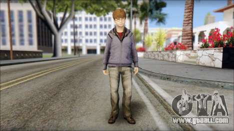 Harry Potter for GTA San Andreas