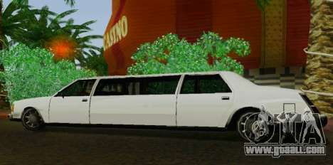 Washington Limousine for GTA San Andreas left view