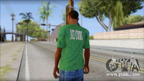 Ice Cube T-Shirt for GTA San Andreas second screenshot