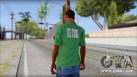 Ice Cube T-Shirt for GTA San Andreas second screenshot