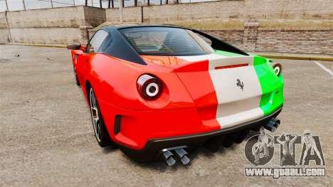 Ferrari 599 GTO PJ4 for GTA 4 back left view