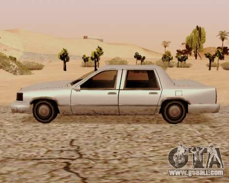Stretch Sedan for GTA San Andreas left view