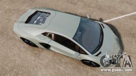 Lamborghini Aventador LP700-4 v2 [RIV] for GTA 4 right view
