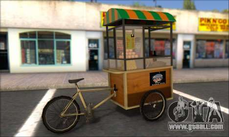 Gerobak Bakso for GTA San Andreas