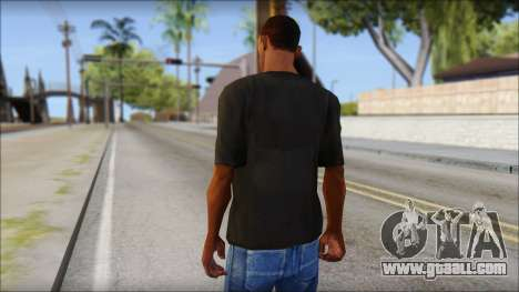 Just Do It NIKE Shirt for GTA San Andreas second screenshot