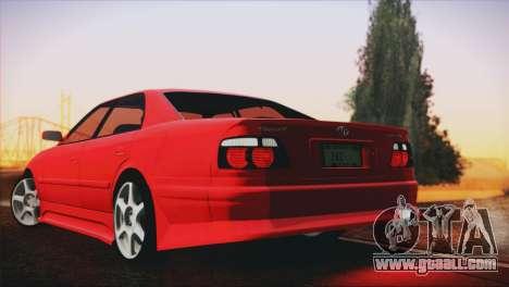 Toyota Chaser Tourer Stock V2.5 1999 for GTA San Andreas left view