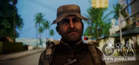 John Price for GTA San Andreas third screenshot