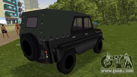 UAZ 496 for GTA Vice City left view