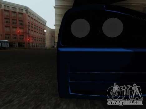 Honda NSX VeilSide for GTA San Andreas inner view