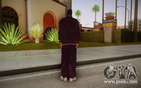 Snoop Dogg Skin for GTA San Andreas second screenshot
