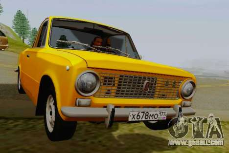 VAZ 2101 Pickup for GTA San Andreas right view