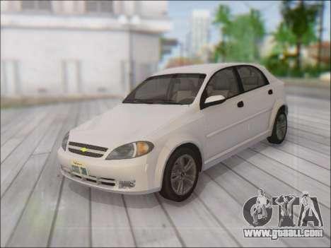 Chevrolet Lacetti for GTA San Andreas