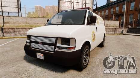 Vapid Speedo Los Santos County Sheriff [ELS] for GTA 4