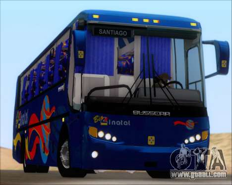Busscar El Buss 340 Bio Linatal for GTA San Andreas upper view