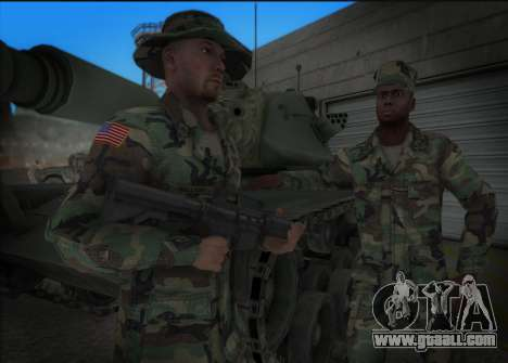 90s California National Guard for GTA San Andreas