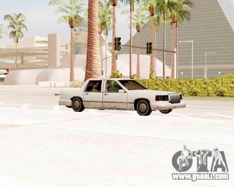 Stretch Sedan for GTA San Andreas right view