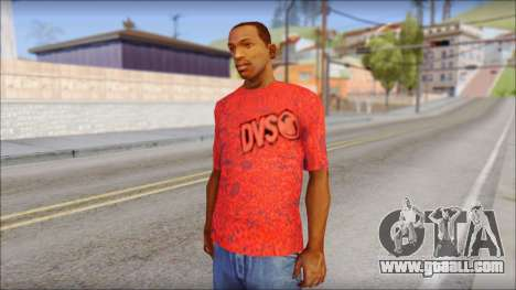 DVS T-Shirt for GTA San Andreas
