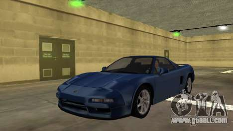 Acura NSX 1991 for GTA Vice City