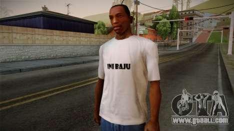 Yao Ming T-Shirt for GTA San Andreas