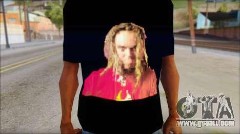 Max Cavalera T-Shirt v2 for GTA San Andreas third screenshot