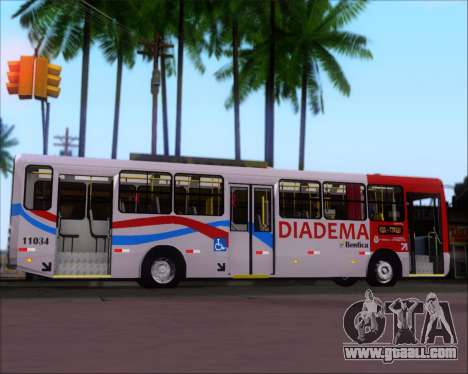 Comil Svelto 2008 Volksbus 17-2 Benfica Diadema for GTA San Andreas inner view