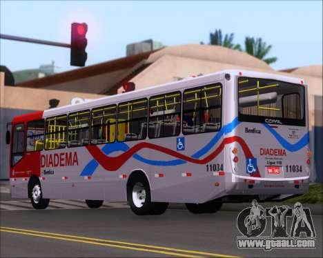 Comil Svelto 2008 Volksbus 17-2 Benfica Diadema for GTA San Andreas right view