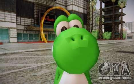 Yoshi from Super Mario for GTA San Andreas third screenshot