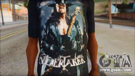 Undertaker T-Shirt v2 for GTA San Andreas third screenshot