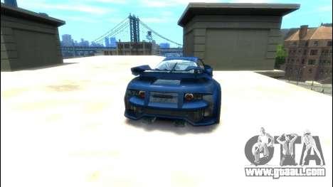 CyborX CD XL-GT for GTA 4 back left view