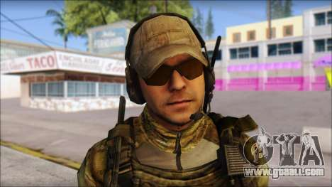Grinch from Modern Warfare 3 for GTA San Andreas third screenshot
