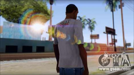 Tribal tee Mouse Inked White T-Shirt for GTA San Andreas second screenshot