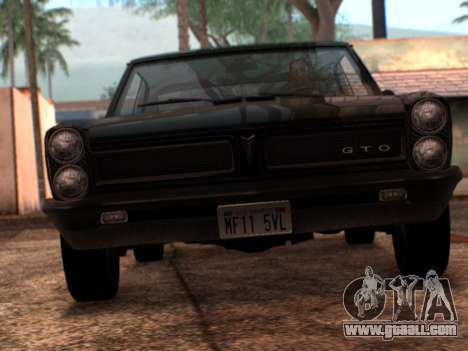 Lime ENB v1.1 for GTA San Andreas third screenshot