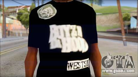Dem Boyz T-Shirt for GTA San Andreas third screenshot