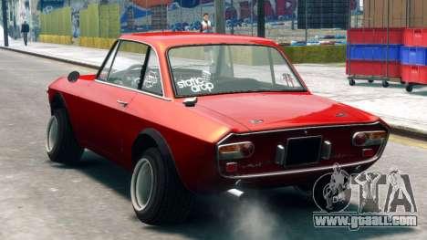 Lancia Fulvia HF for GTA 4 left view