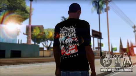 A7X Stars And Stripes T-Shirt for GTA San Andreas second screenshot