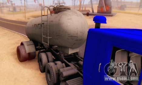 Trailer cement carrier TTC 26 for GTA San Andreas