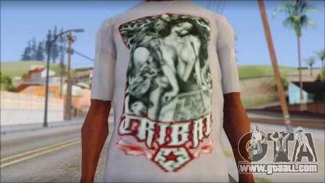 Tribal tee Mouse Inked White T-Shirt for GTA San Andreas third screenshot