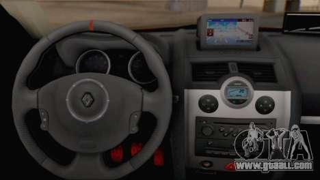 Renault Megane II HatchBack for GTA San Andreas back left view
