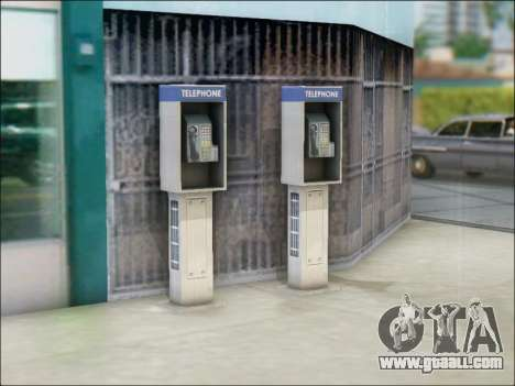 Street phone for GTA San Andreas forth screenshot