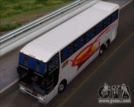 Busscar Jum Buss 400 Volvo B10R Pullman Del Sur for GTA San Andreas interior