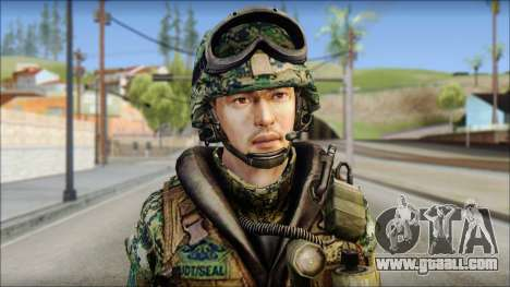 Forest UDT-SEAL ROK MC from Soldier Front 2 for GTA San Andreas third screenshot
