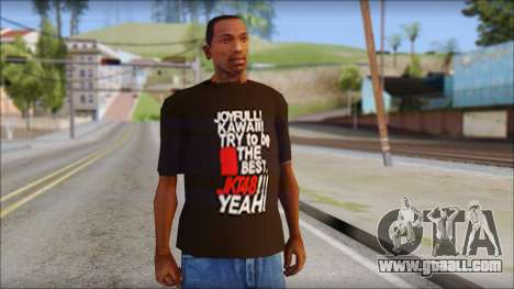 JKT48 Joyfull Kawai Shirt for GTA San Andreas